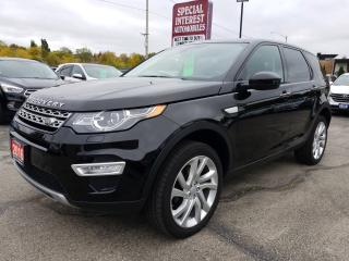 Used 2016 Land Rover Discovery Sport HSE LUXURY NAVIGATION !!  AWD !! LOW KMS !! for sale in Cambridge, ON