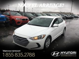 Used 2017 Hyundai Elantra LE + GARANTIE + A/C + BLUETOOTH + GR. EL for sale in Drummondville, QC