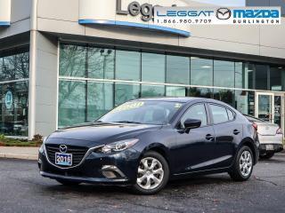 Used 2016 Mazda MAZDA3 GX- AUTOMATIC, A/C, BLUETOOTH, 2.0L SKY-G for sale in Burlington, ON
