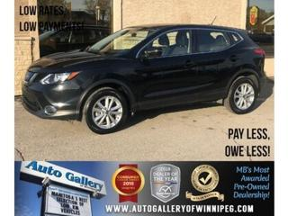 Used 2019 Nissan Qashqai SV *AWD/B.tooth/Back.Cam/Htd Seats/Roof for sale in Winnipeg, MB