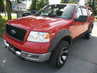 Used 2005 Ford F-150 Supercrew**clean NO ACCIDENTS + FREE 6M warranty** for sale in Ajax, ON