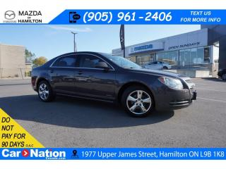 Used 2011 Chevrolet Malibu LT PLATINUM | LEATHERETTE | SUNROOF | HEATED SEATS for sale in Hamilton, ON