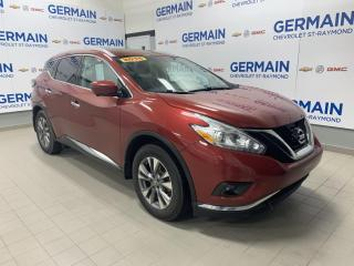 Used 2016 Nissan Murano AWD SL for sale in St-Raymond, QC