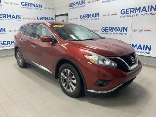 Used 2016 Nissan Murano SL for sale in St-Raymond, QC