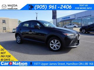 Used 2016 Mazda CX-3 GX | REAR CAM | BLUETOOTH | AWD for sale in Hamilton, ON