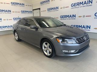 Used 2015 Volkswagen Passat 3.6 SE- CAMÉRA DE RECUL- BLUETOOTH- CLIMATISEUR for sale in St-Raymond, QC