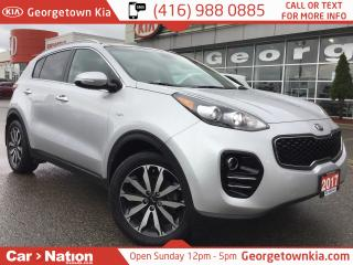 Used 2017 Kia Sportage EX TECH NAVI| PANO ROOF| LEATHER| 1 OWNER| AWD for sale in Georgetown, ON