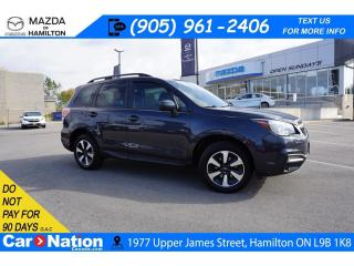 Used 2017 Subaru Forester 2.5i Limited 2.5i LIMITED | SUNROOF | REAR CAM | 4X4 | XM RADIO for sale in Hamilton, ON