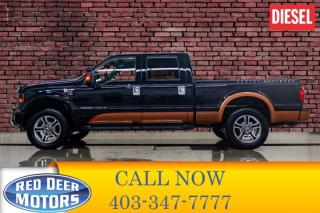 Used 2008 Ford F-250 4x4 Crew Cab Harley Davidson Diesel Leather Roof for sale in Red Deer, AB