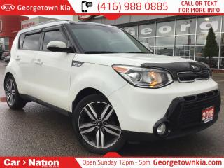Used 2016 Kia Soul SX NAVI| LEATHER| PANO ROOF| 1 OWNER| B/U CAM for sale in Georgetown, ON