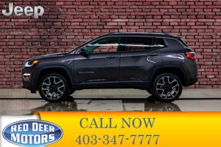 Used 2018 Jeep Compass 4x4 Limited Leather Nav BCam for sale in Red Deer, AB