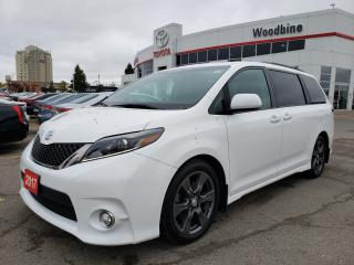 Used 2017 Toyota Sienna SE 8 Passenger NO ACCIDENTS | ONE OWNER | 8 Passenger for sale in Etobicoke, ON