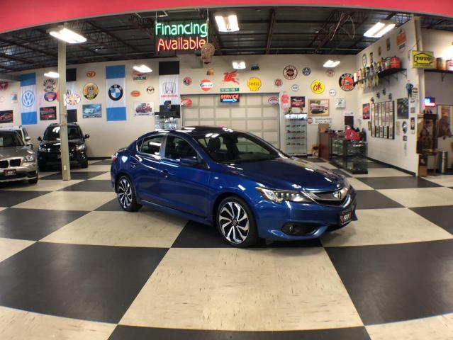 2016 Acura ILX A-SPEC AUT0 NAVI LEATHER SUNROOF BACKUP CAMERA