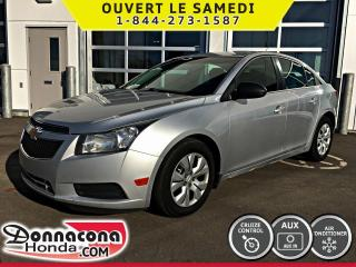 Used 2012 Chevrolet Cruze LS * BLUETOOTH, AIR, MP3* for sale in Donnacona, QC