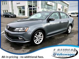 Used 2017 Volkswagen Jetta Highline Auto - Navigation / Leather for sale in PORT HOPE, ON