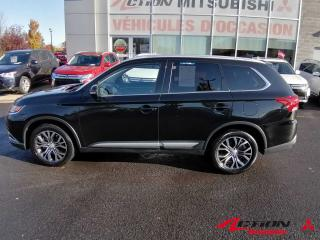 Used 2018 Mitsubishi Outlander ES PREMIUM - 7 PASSAGERS - AWD - CUIR - BAS KM for sale in St-Hubert, QC
