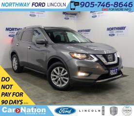 Used 2017 Nissan Rogue SV | AWD | PWR HTD SEATS | PUSH START | PANOROOF | for sale in Brantford, ON