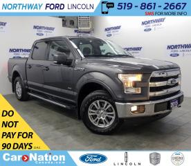 Used 2015 Ford F-150 Lariat | 2.7L V6 | NAV | HTD LEATHER | PANOROOF | for sale in Brantford, ON