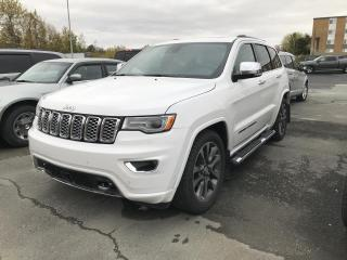 Used 2018 Jeep Grand Cherokee OVERLAND 4X4 for sale in Sherbrooke, QC