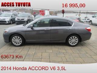 Used 2014 Honda Accord EX-L V6 for sale in Rouyn-Noranda, QC