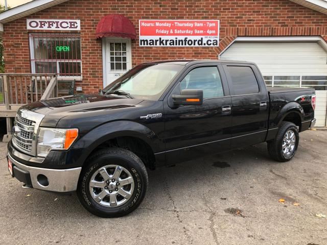 2013 Ford F-150 XLT XTR Crew 5 Litre V8 4x4 Back Up Cam Bluetooth
