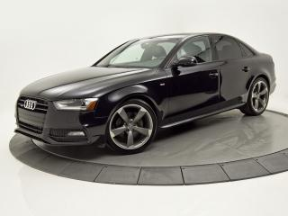 Used 2014 Audi A4 PROGRESIV S-LINE MANUEL RARE !!! for sale in Brossard, QC