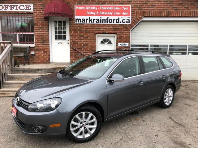 2013 Volkswagen Golf Wagon Comfortline TDI Diesel 6 spd Manual Pano Sunroof