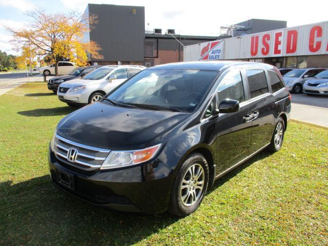 2013 Honda Odyssey EX-L~8 PASS.~LEATHER~DVD~POWER SLIDING DOORS~