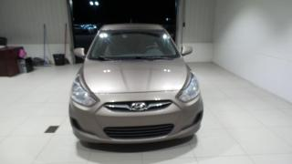 Used 2013 Hyundai Accent Berline 4 portes, boîte auto GL for sale in St-Raymond, QC