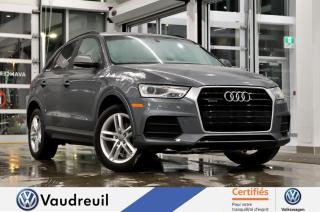 Used 2016 Audi Q3 2.0T Komfort quattro * A NOUVEAU DISPONI for sale in Vaudreuil-Dorion, QC