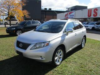 Used 2010 Lexus RX 350 PREMIUM~AWD~LEATHER~NAV.~BACK-UP CAM.~SUNROOF~ for sale in Toronto, ON