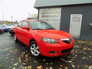 Used 2008 Mazda MAZDA3 ***GS,AUTOMATIQUE,MAGS,A/C*** for sale in Longueuil, QC