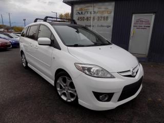 Used 2009 Mazda MAZDA5 ***GT,6 PLACES,AUTO,CUIR,TOIT,DVD*** for sale in Longueuil, QC