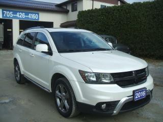 Used 2016 Dodge Journey Crossroad , AWD for sale in Beaverton, ON