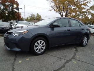 Used 2015 Toyota Corolla CE A/C 6 VITESSE VITRES ÉLECTRIQUE BLUETOOTH for sale in St-Eustache, QC