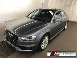 Used 2015 Audi A4 S-LINE **59,000KM** NAVIGATION QUATTRO MAGS 18 for sale in St-Eustache, QC