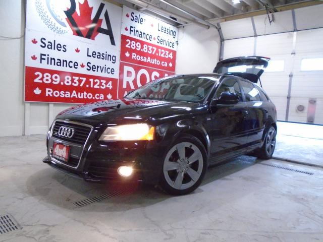 2009 Audi A3 AWD Premium HATCH PANO B-TOOTH  NO ACCIDENT LEATHE