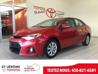 Used 2015 Toyota Corolla * SPORT * SIEGES CHAUFFANTS * BLUETOOTH * for sale in Mirabel, QC