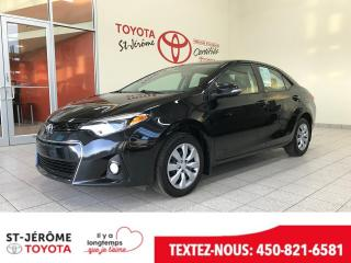 Used 2016 Toyota Corolla * SPORT * PEA 2020 OU 100 000 KMS * for sale in Mirabel, QC