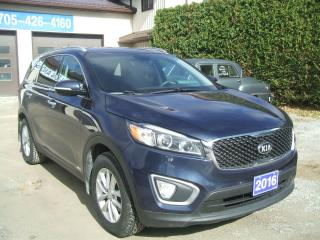 Used 2016 Kia Sorento XL , AWD for sale in Beaverton, ON