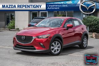 Used 2018 Mazda CX-3 GX Manual FWD - Camera - Bluetooth - Économique for sale in Repentigny, QC