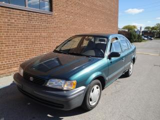 Used 1999 Toyota Tercel CE for sale in Oakville, ON