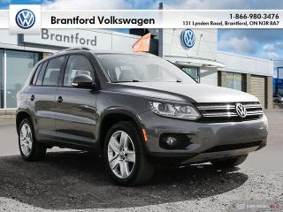 Used 2015 Volkswagen Tiguan Comfortline 6sp at Tip 4M for sale in Brantford, ON