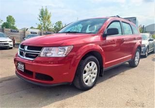 Used 2015 Dodge Journey Canada Value Pkg for sale in Brampton, ON