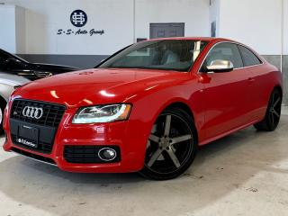 Used 2012 Audi S5 PREMIUM PLUS|NAV|NICHE RIMS|ACCIDENT FREE for sale in Oakville, ON