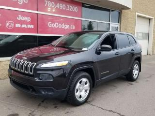 Used 2015 Jeep Cherokee Sport / Back Up Camera for sale in Edmonton, AB