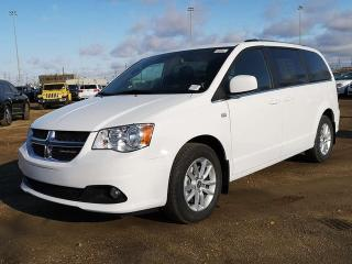 Used 2019 Dodge Grand Caravan SXT / DVD / Back Up Camera for sale in Edmonton, AB
