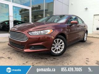 Used 2015 Ford Fusion S GREAT SHAPE POWER OPTIONS for sale in Edmonton, AB