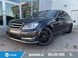 Used 2014 Mercedes-Benz C-Class C 300 4MATIC LEATHER for sale in Edmonton, AB