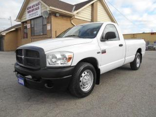 Used 2009 Dodge Ram 2500 ST Regular Cab 8Ft Box Power Liftgate ONLY 75,000K for sale in Etobicoke, ON